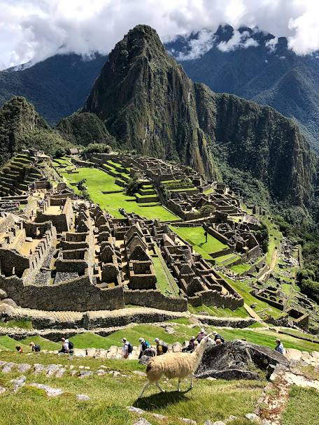 Machu Picchu - the train ride is worth it!