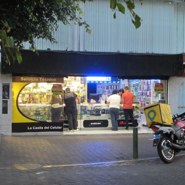 SIM card shop in Lima Peru - a great place to get cheap cell data