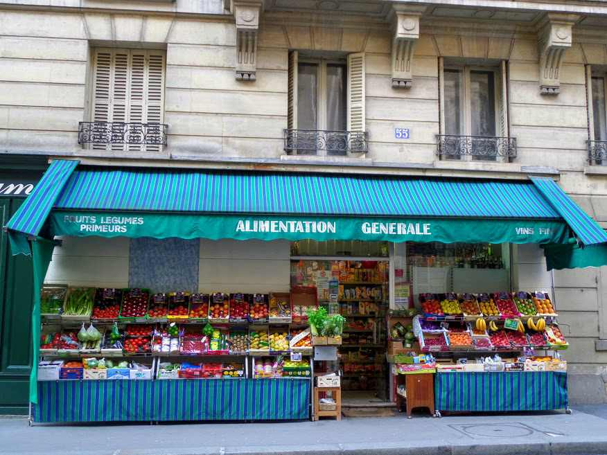 Affordable food from the supermarket in Paris!