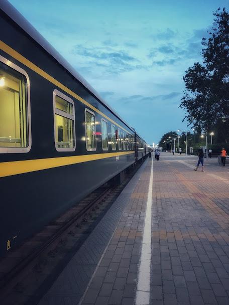 K23 train from Beijing to Ulaan Baatar