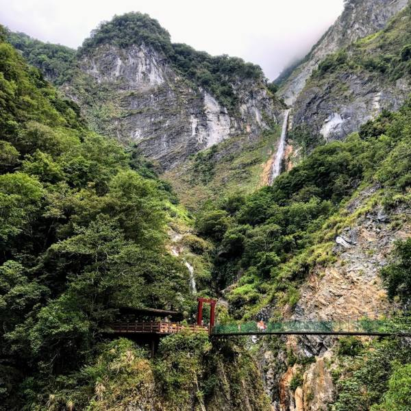 Hiking in Taroko Gorge National Park