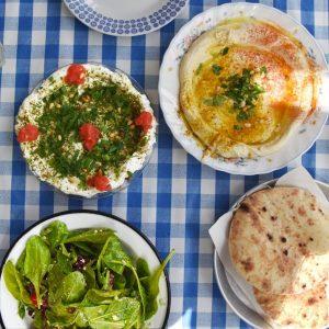 hummus in tel aviv, israel (best vegetarian food in the world)