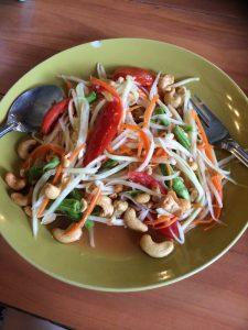 thai papaya salad aka som tam