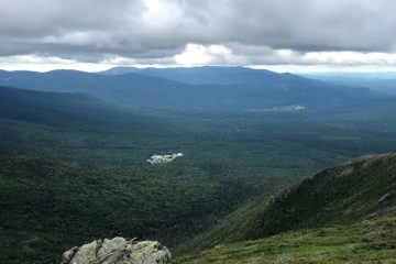 Above the tree line on Mt. Washington