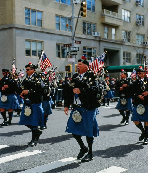st. patrick's day bagpipes